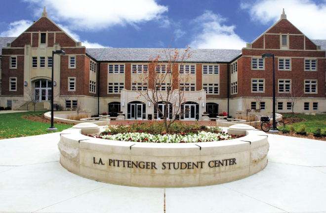 Pittenger Student Center Hotel Ball State University