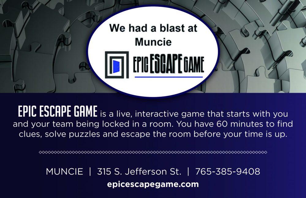 Epic Escape Game Muncie Visitors Bureau Visit Muncie