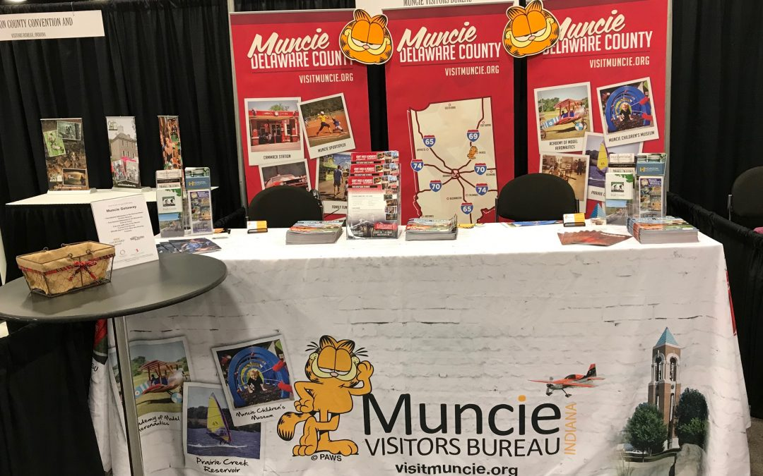 Promoting Muncie at Travel Shows