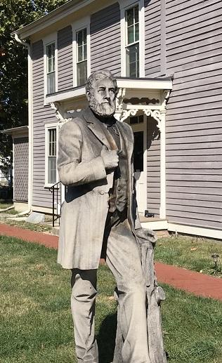 Charles F Willard statue